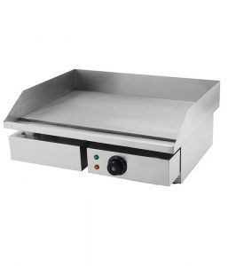 Electric Countertop Griddle Single Flat Top 73mm