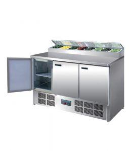 Polar Refrigerated Pizza & Salad Prep Counter 390ltr