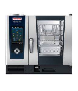 Rational iCombi Pro 6-1/1/E/SP 6 Grid 1/1GN Single Phase Electric Combination Oven