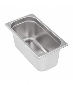 Stainless Steel Gastronorm Pan GN 1/3 Depth 20mm