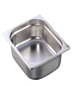 Stainless Steel Gastronorm Pan GN 1/2 Depth 65mm