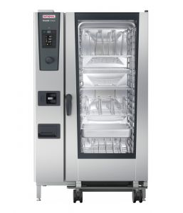 Rational iCombi Classic 20-2/1/G/N 20 Grid 2/1GN Natural Gas Combination Oven