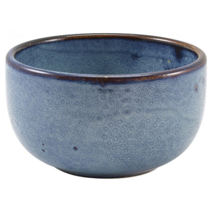 Aqua Blue Terra Round Bowls 11.5 x 5.5cm - 36cl / 12.5oz (Pack Of 6)