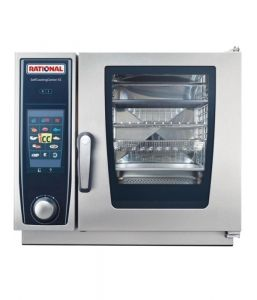 Rational SCCXS 6 Grid 2/3GN Electric Self Cooking Center / Combination Oven