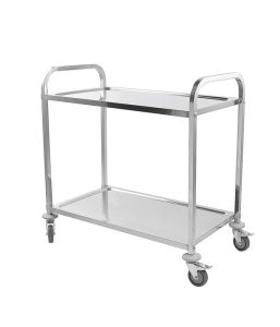 Service Trolley 2 Tier With Square Tube