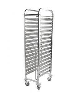 Racking Trolley 16 Shelves for GN Pan 1/1