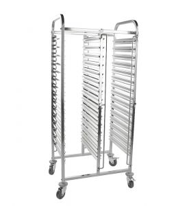 Racking Trolley 30 Shelves Double Row for GN Pan1/1