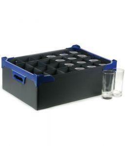 Glassware Storage Box (24 Compartment for 10oz Glasses) x5
