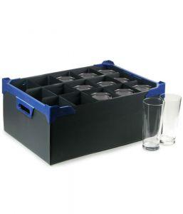 Glassware Storage Box (15 Compartment for 20oz Glasses) x5