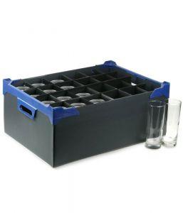 Glassware Storage Box (24 Compartment for 12oz Glasses) x5