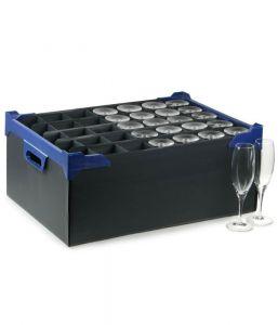 Glassware Storage Box (35 Compartment for Champagne Flute) x5