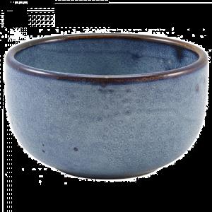Aqua Blue Terra Round Bowls 12.5 x 6.5cm - 50cl / 17.5oz (Pack Of 6)