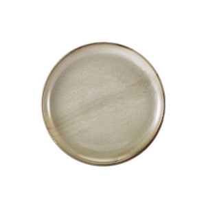 Smoke Grey Terra Porcelain Coupe Plate 30.5cm(Pack Of 6)