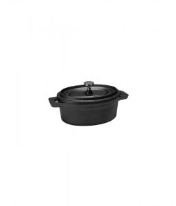 Mini Oval Cast Iron Casserole & Lid