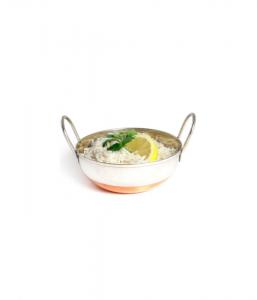 """Copper Based Balti Dish - 15cm/6"""""""
