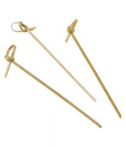 Bamboo Looped Skewers 12cm x100