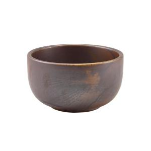 Rustic Copper Terra Round Bowls 12.5 x 6.5cm - 50cl / 17.5oz (Pack Of 6)
