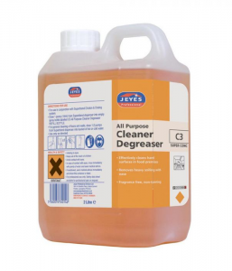 Jeyes Professional C3 Super Concentrate Cleaner Degreaser (2 Litre)