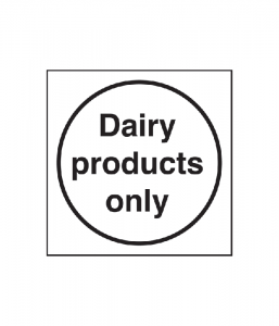 Dairy Products Only