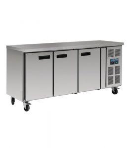 Polar 3 Door Refrigerated Counter Fridge