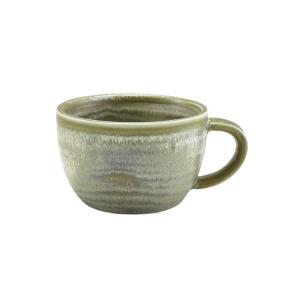 Matt Grey Terra Porcelain Coffee Cup 28.5cl/10oz (Pack Of 6)