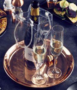 Copper Champagne Flight