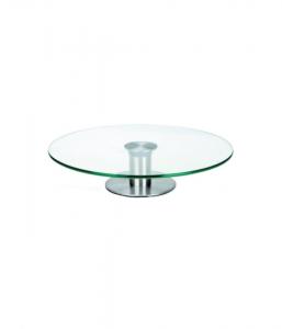 Revolving Glass Cake Stand