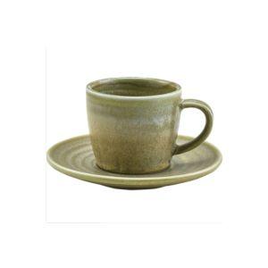 Matt Grey Terra Porcelain Espresso Cup (Pack Of 6)