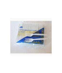 Disposable Plastic Table Fork (Pack Of 100)