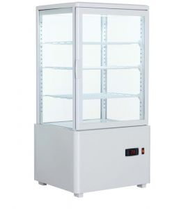 Four Sided Glass Display 68L