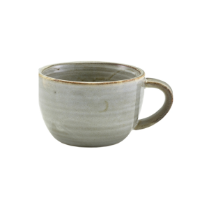 Smoke Grey Terra Porcelain Coffee Cup 28.5cl/10oz (Pack Of 6)