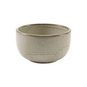 Smoke Grey Terra Round Bowls 12.5 x 6.5cm - 50cl / 17.5oz (Pack Of 6)