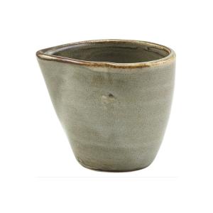 Smoke Grey Terra Porcelain Jug 9cl/3oz (Pack Of 6)