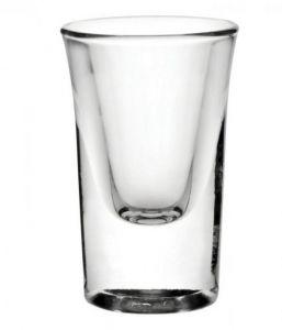 Boston Heavy Based Shot Glass 1oz (2.5cl) CE x24