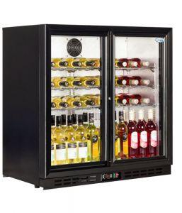 Interlevin PD20S Bottle Cooler - Sliding 2 Door