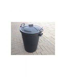 Heavy Duty Plastic Bin - Black