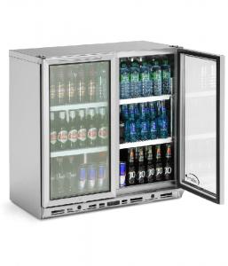 Williams BC2 Bottle Cooler Double Door - Black