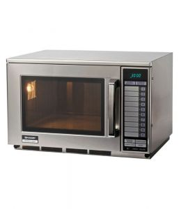 Sharp R22AT Commercial Microwave Programmable 1500w