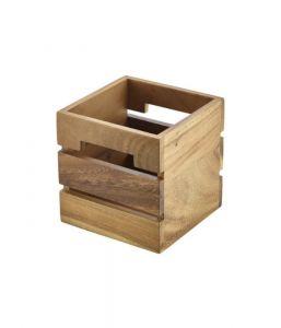 Acacia Wood Boxes/Risers-12 x 12 x 12cm