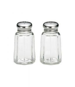 30ML Salt Or Pepper Paneled Glass Shaker