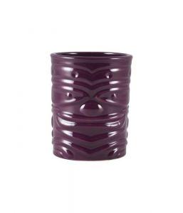 Genware Purple Tiki Mug 36cl/12.75oz x4
