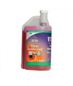 Vmix Super Concentrate Disinfectant Floral 1 Litre