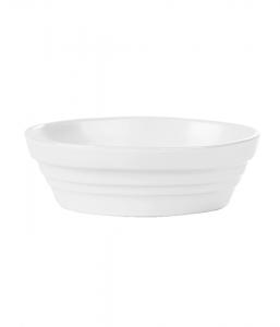 Porcelite Bakeware White Round Baking Dish 14cm x 24