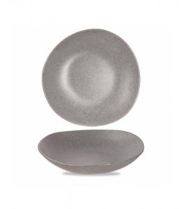 Churchill Alchemy Melamine Buffet Trace Bowl Granite 38cm 460cl (Pack of 2)